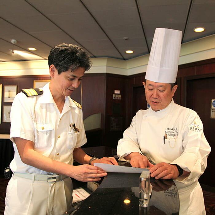 <飛鳥Ⅱ> アシスタント ホテルマネージャー 中谷内 圭太
