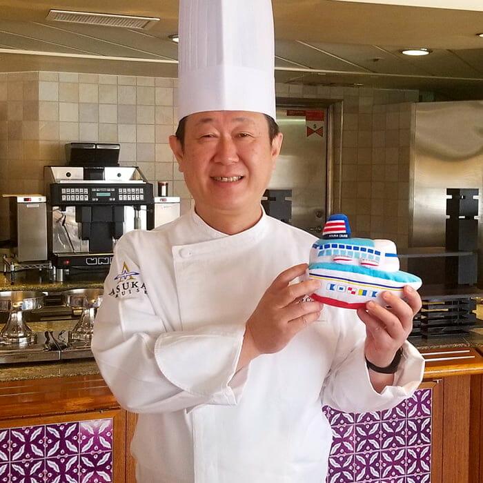 <飛鳥Ⅱ> 飛鳥クルーズ第10代総料理長 西口 雅浩