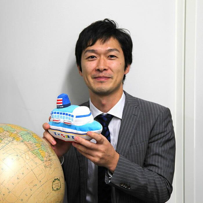 <郵船クルーズ> 工務チーム 須磨 秀文