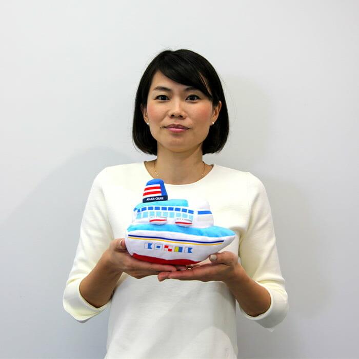 <郵船クルーズ> ブランド戦略室 武田 亜希子