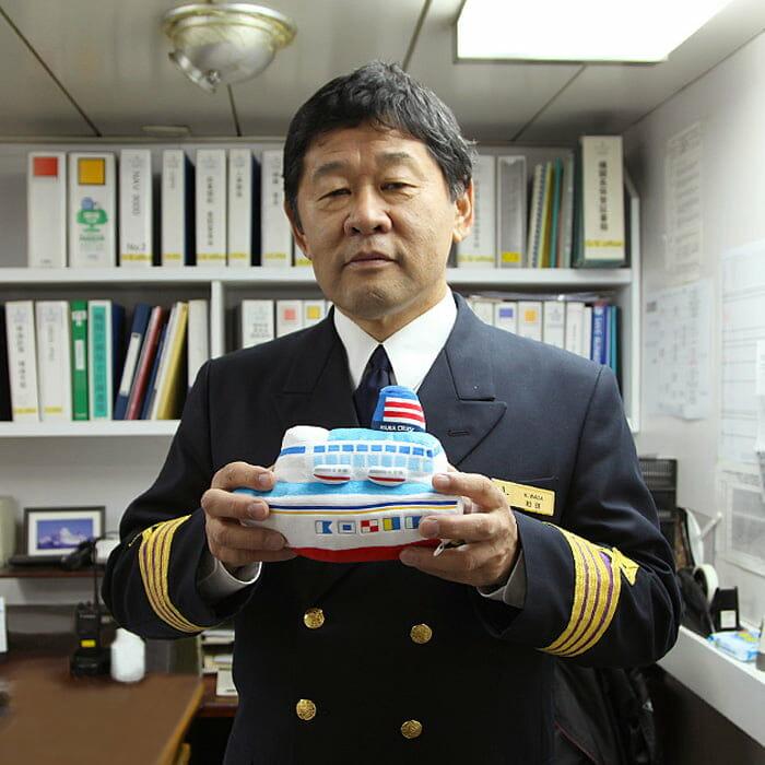 <飛鳥Ⅱ> 機関長 和田 光一郎
