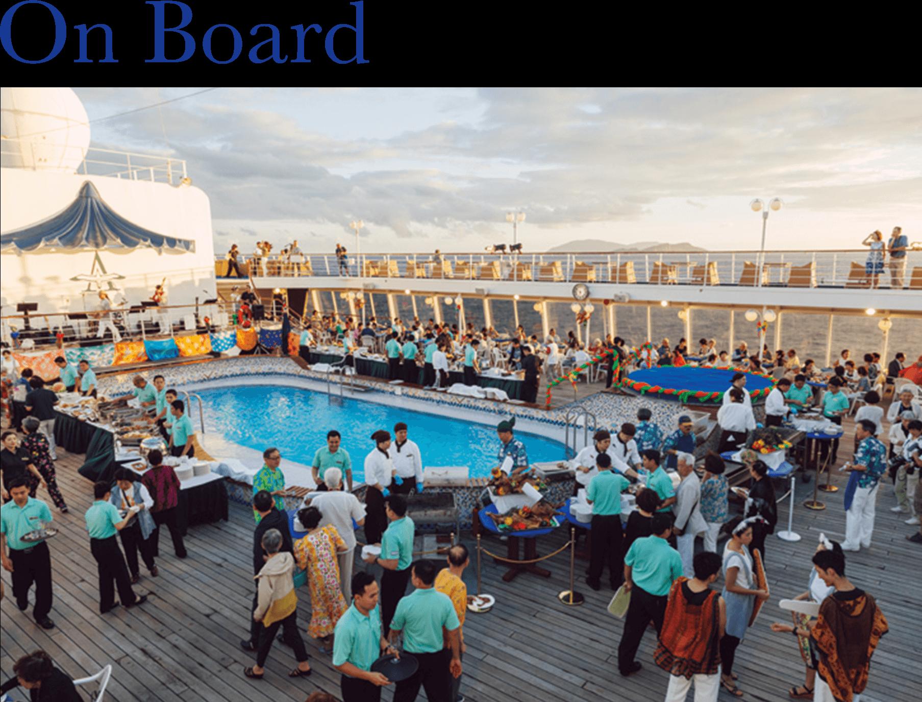 2021年 オセアニアグランドクルーズ On Board オセアニアデッキディナー 詳細情報