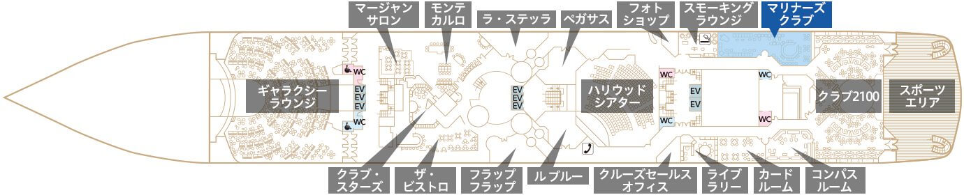 Deck6 プラザデッキ マリナーズクラブ