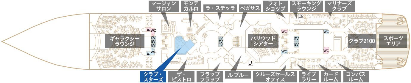 Deck6 プラザデッキ クラブ・スターズ