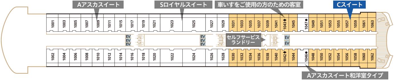 Deck10 アスカデッキ Cスイート