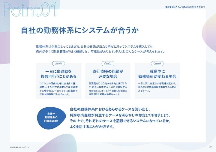 @人事・ホワイトペーパー・自社の勤務体系にフィットする勤怠管理システムの選び方のインサート画像