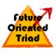 未来向きトライアドのアイコン画像