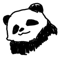 パンダの中のパンダのアイコン