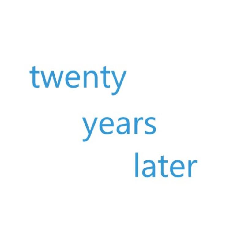 アイコン: TWENTY YEARS LATER