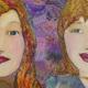 大人の階段登る姉妹のアイコン画像