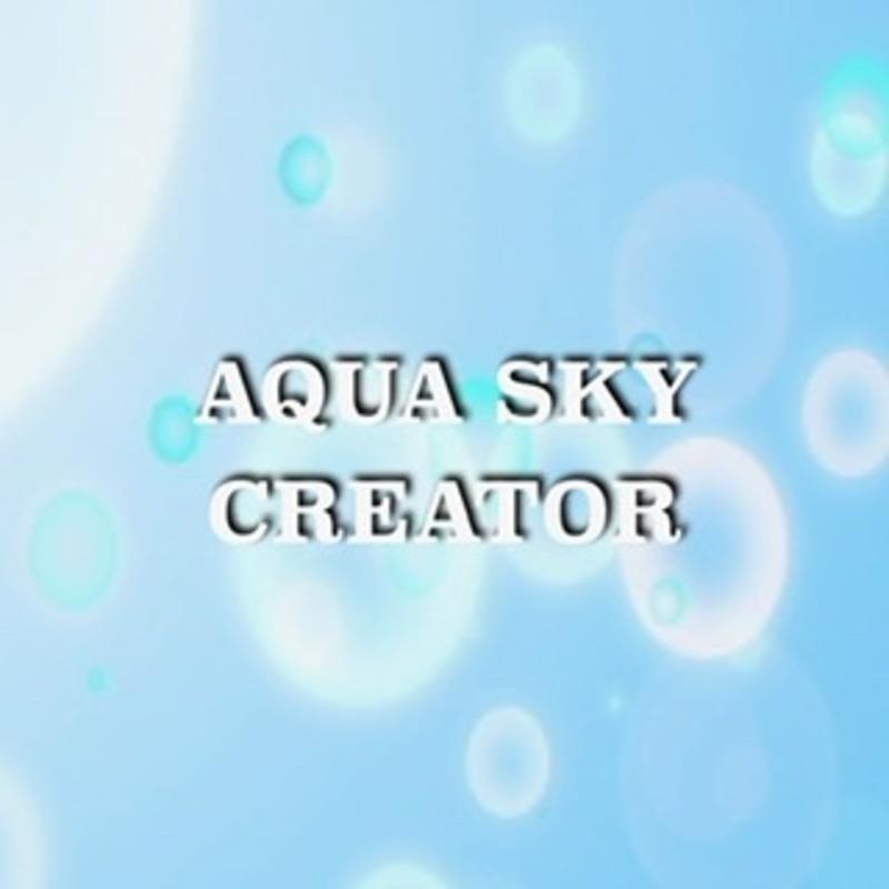 アイコン: AQUA SKY CREATER