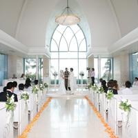 結婚式入場のイメージ