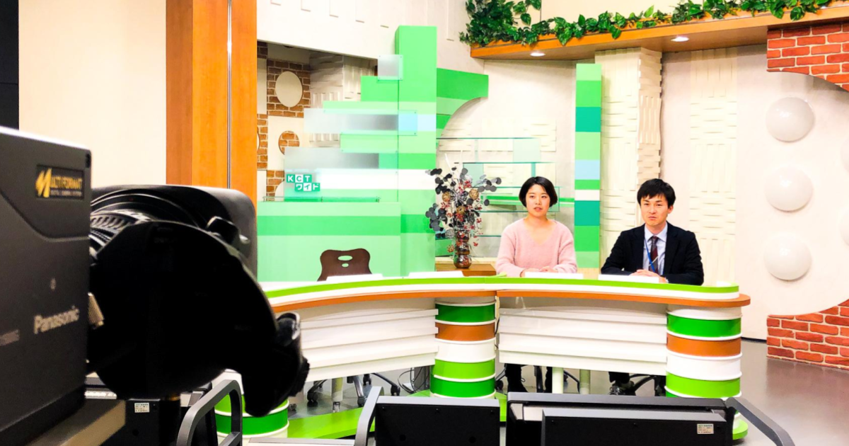 株式会社倉敷ケーブルテレビ 番組収録の様子
