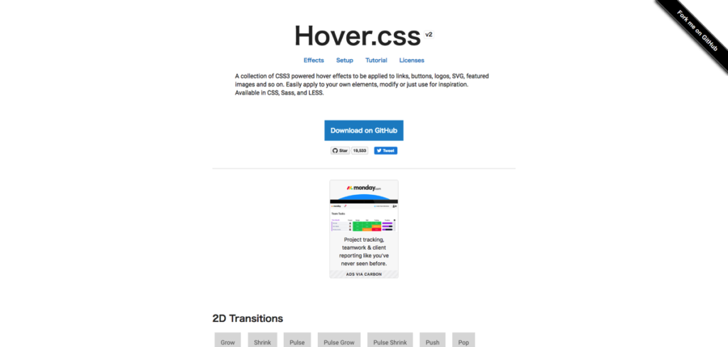 FireShot Capture 61  Hover css  A collection of CSS3 powered ho  http ianlunn github io Hover