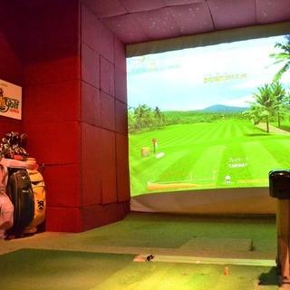 本格ゴルフが楽しめるスポーツバー