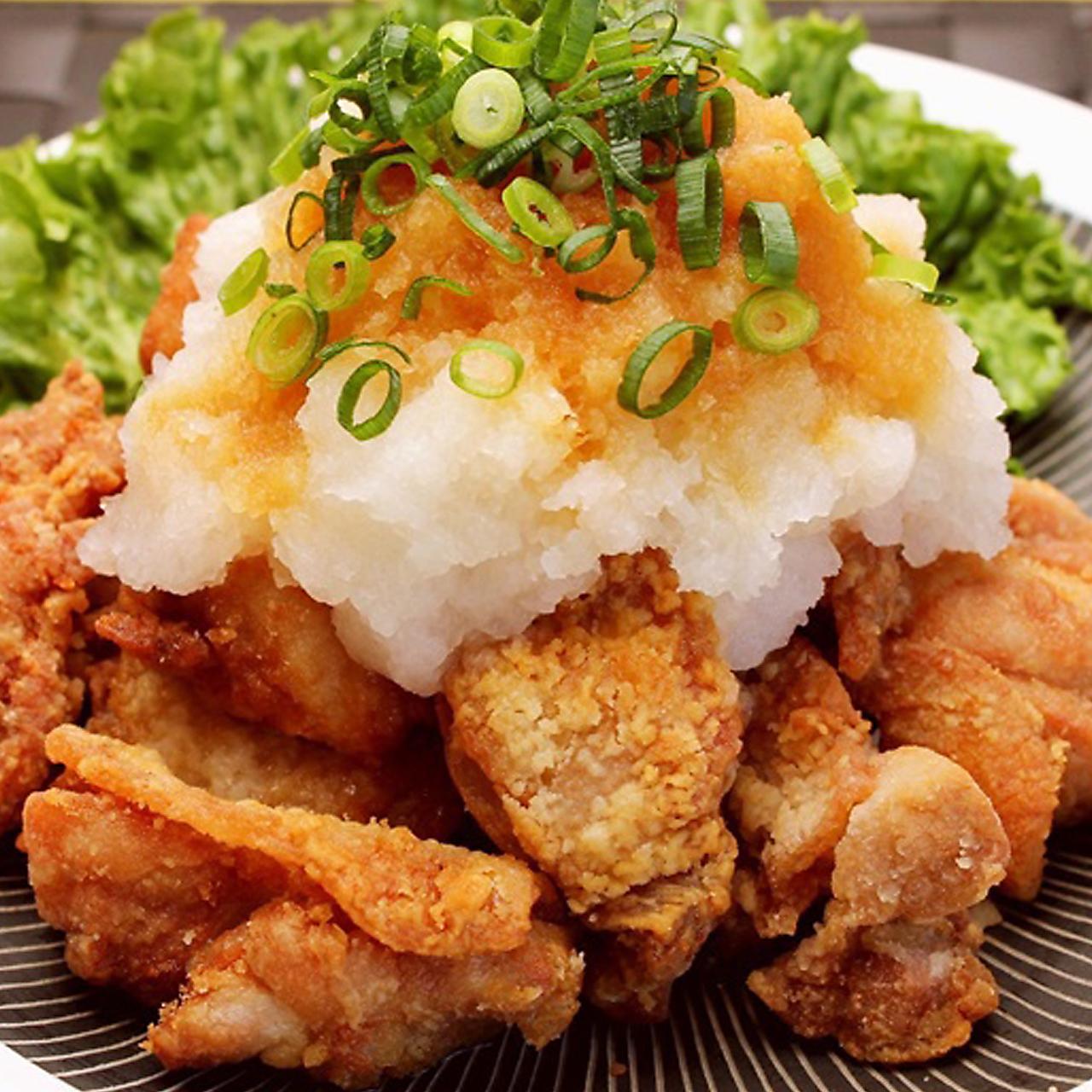 若鶏の唐揚げ 特製ソース