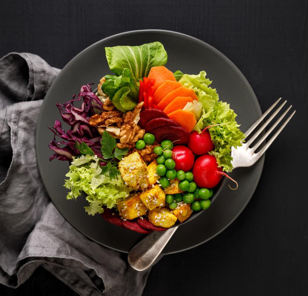 栄養バランスの摂れた食事