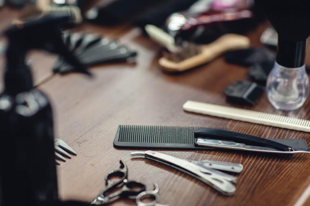 美容師が使用する道具