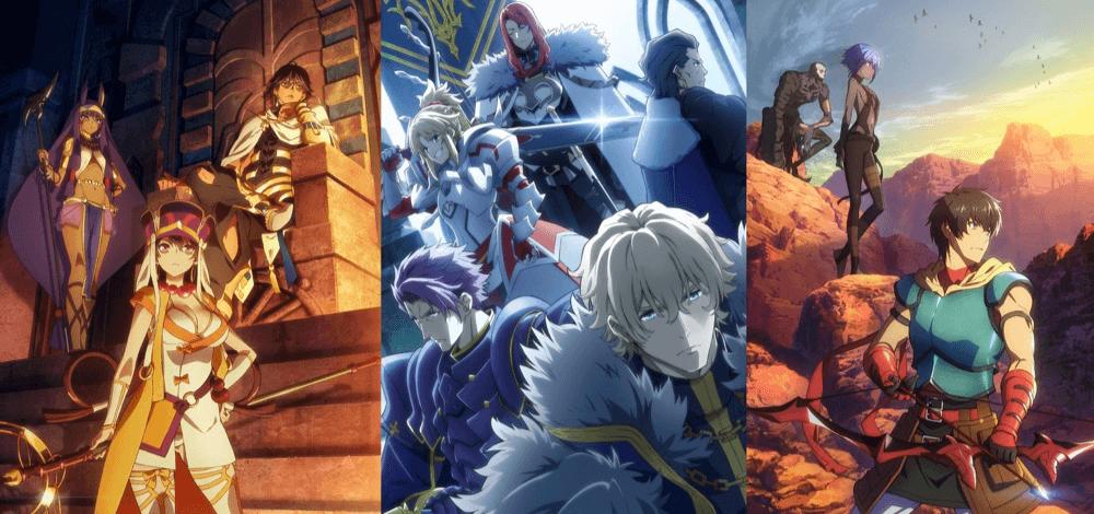 「Fate/Grand Order -神聖円卓領域キャメロット-」AXE FGO ep6