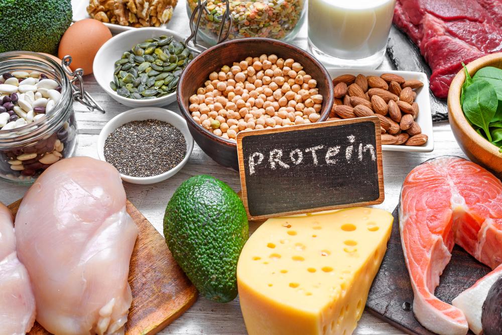 プロテインを多く含む食材