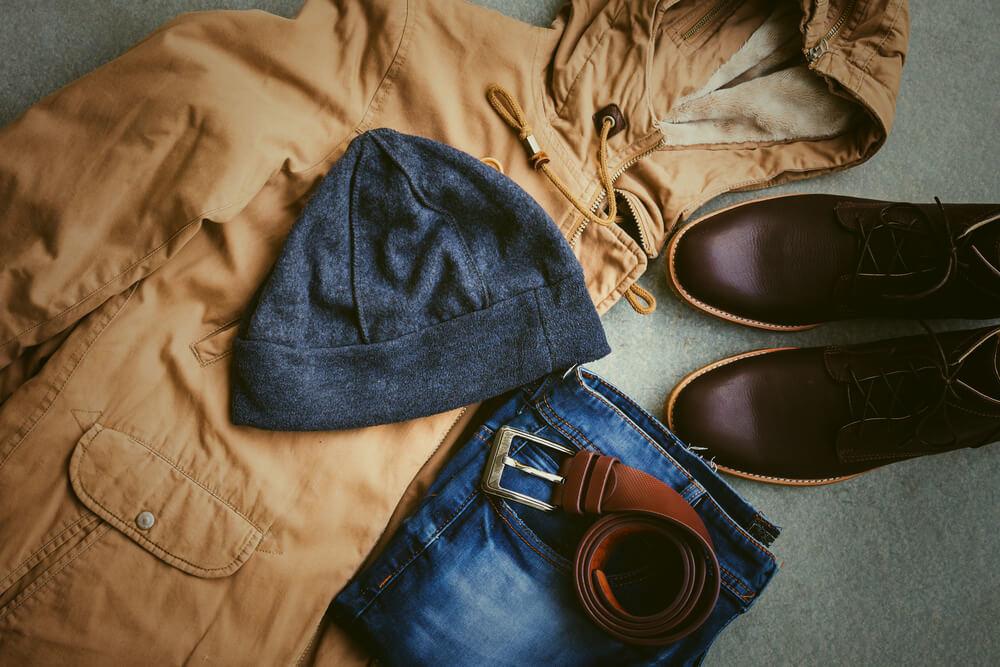 ニット帽と秋のメンズカジュアルコーデ