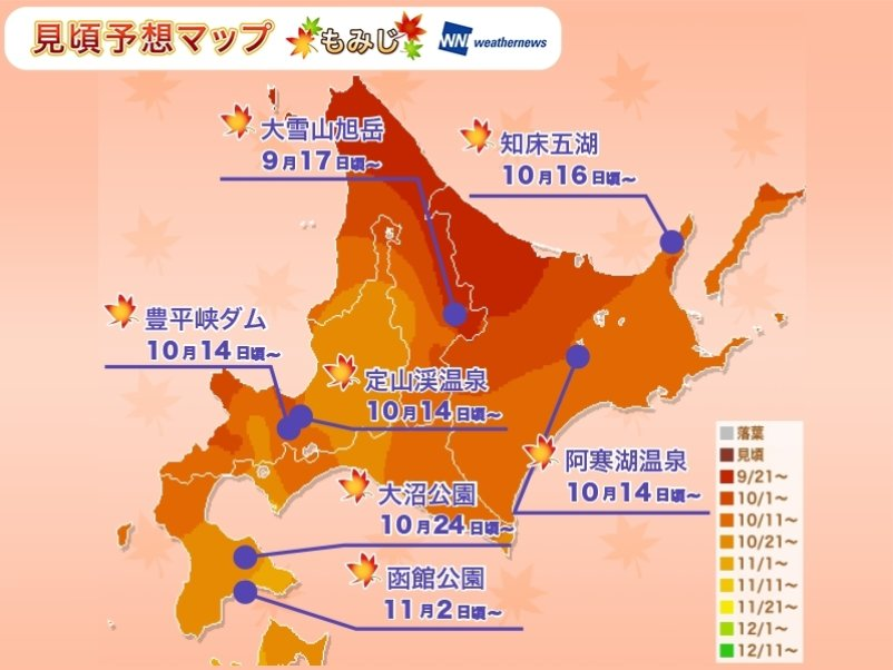 Hokkaido Forecast