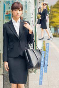 美人モデル・女優に学ぶ、業界別スーツ着こなし術!のサムネイル画像