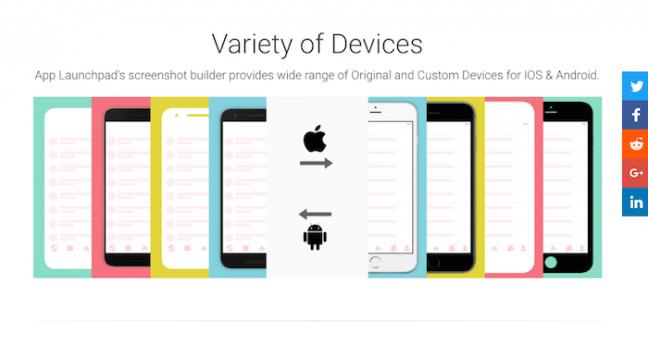 各スマホサイズのスクショも作れる!App store/Google playに掲載する、アプリのスクショを簡単・綺麗に作成するサービス「App Launchpad」のサムネイル画像