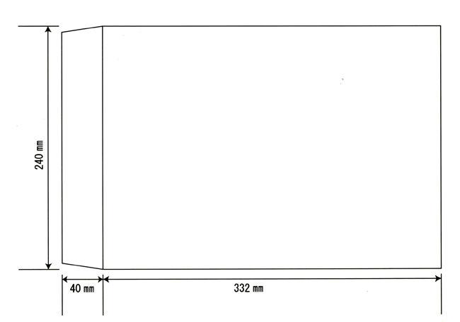 A版の履歴書に適切なサイズの封筒