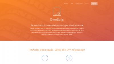 Dwolla.js Bank Verification