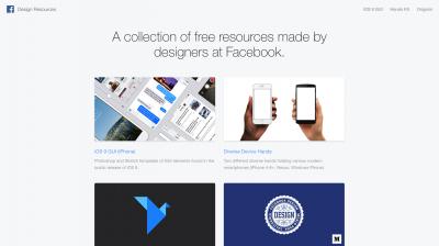 Facebook Design Resources