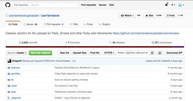 Rubyのgemライブラリ7:CarrierWave