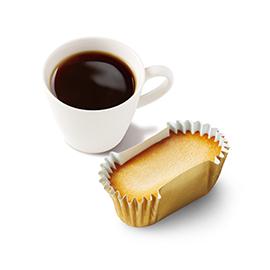 ひんやりドルチェセット(ひんやりドルチェ ベイクドチーズ+セットドリンクMサイズ ※スープ・シェイク不可)