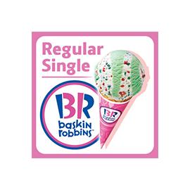 【サーティワンアイスクリーム】レギュラーシングルギフト券