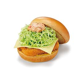 チキンバーガー(チーズ)