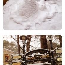 ジブリと雪。