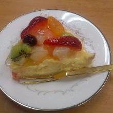 フルーツチーズタルト