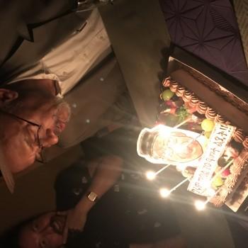 エリトリアのエスティファノス大使、古希の誕生日会