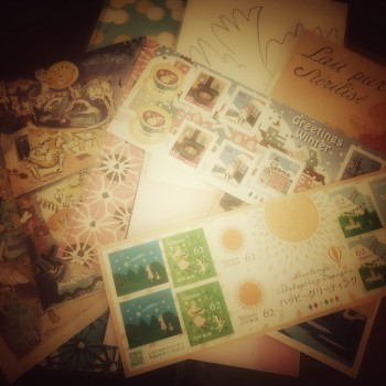 ハガキセット New stamps for post card