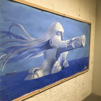 会田誠店@青山クリスタルビルMakoto Aida solo exhibition
