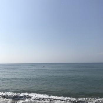 海辺のヨガ教室