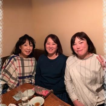 「3人女子会」