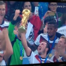 ドイツおめでとう!!!