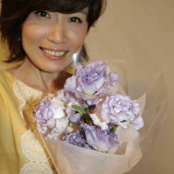 お花と焼き肉(^^)