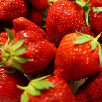 家庭菜園☆摘み立て苺