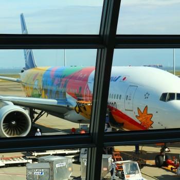 行きの飛行機で☆2020