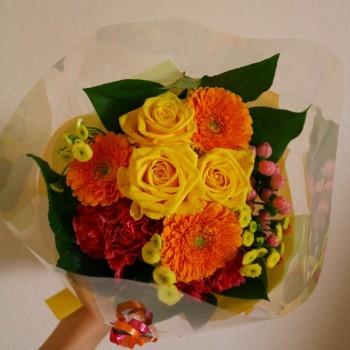 嬉しいお花☆