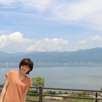 諏訪湖☆シャインマスカットソフト
