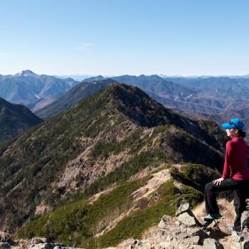 女峰山登山
