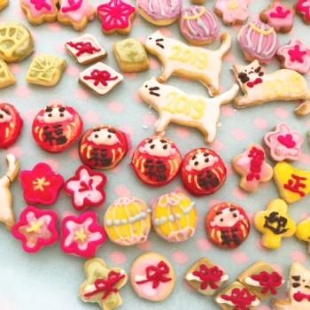 お正月クッキー